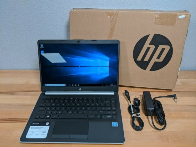 """HP Premium High Performance Laptop 14"""", Pentium N5000, 4GB, 64GB (14-df0013cl)"""