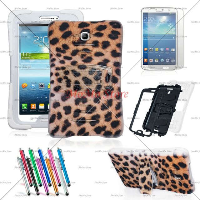 Hybrid Heavy Duty Shockproof Kick Stand Case Cover for Samsung Galaxy Tab 3 7.0
