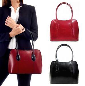 Image Is Loading Womens Italian Leather Handbag Vera Pelle Las Tote