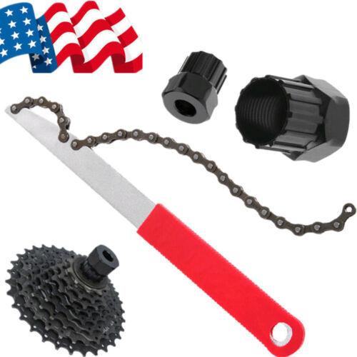 US Mountain Bike Free wheel Chain Whip Sprocket Lockring Remover Bike Tool