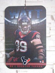 Jj-Watt-99-Texans-de-Houston-NFL-Football-Plastique-Bouclier-42-CM