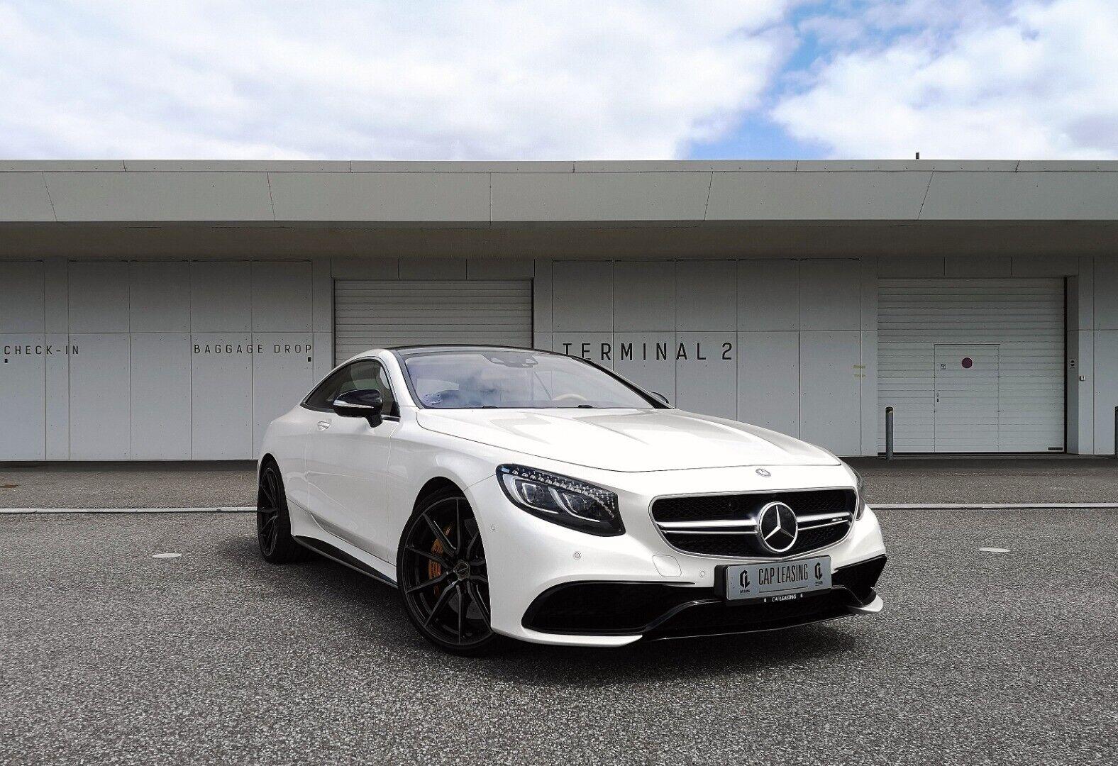 Mercedes S63 5,5 AMG Coupé aut. 4-M 2d - 580.000 kr.