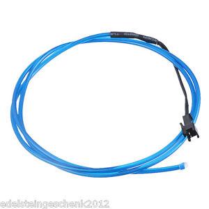 GS-LED-voiture-ambiance-eclairage-eclairage-interieur-lumiere-barre-113cm-Bleu
