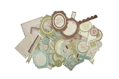 Kaisercraft /'HEIRLOOM/' Collectables Die Cut Shapes Family//Heritage *NEW* KAISER