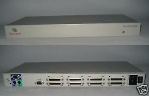 Details About Avocent Apex 1160ES 16 Port KVM Switch Like DELL 582RR TESTED