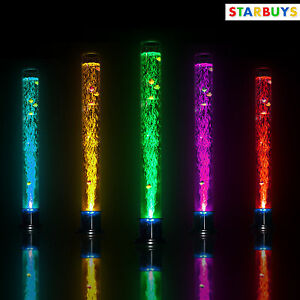 Large fish bubble lamp tube remote control 150cm floor for Floor lamp with tube light