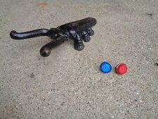VINTAGE NOS BICYCLE FENDER/MUD FLAP/ETC REFLECTOR SET 1 BLUE & 1 RED GOOD