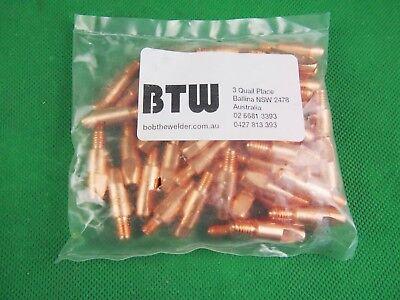 50Pcs 1.4*M6*28L Binzel Style MIG Tips 50Pcs 1.4mm*M6*28L Binzel Style MIG Tips