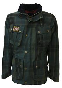 HACKETT-LONDON-chaqueta-de-hombre-cuadros-verde-azul-negro-forrada-mod-HM400725