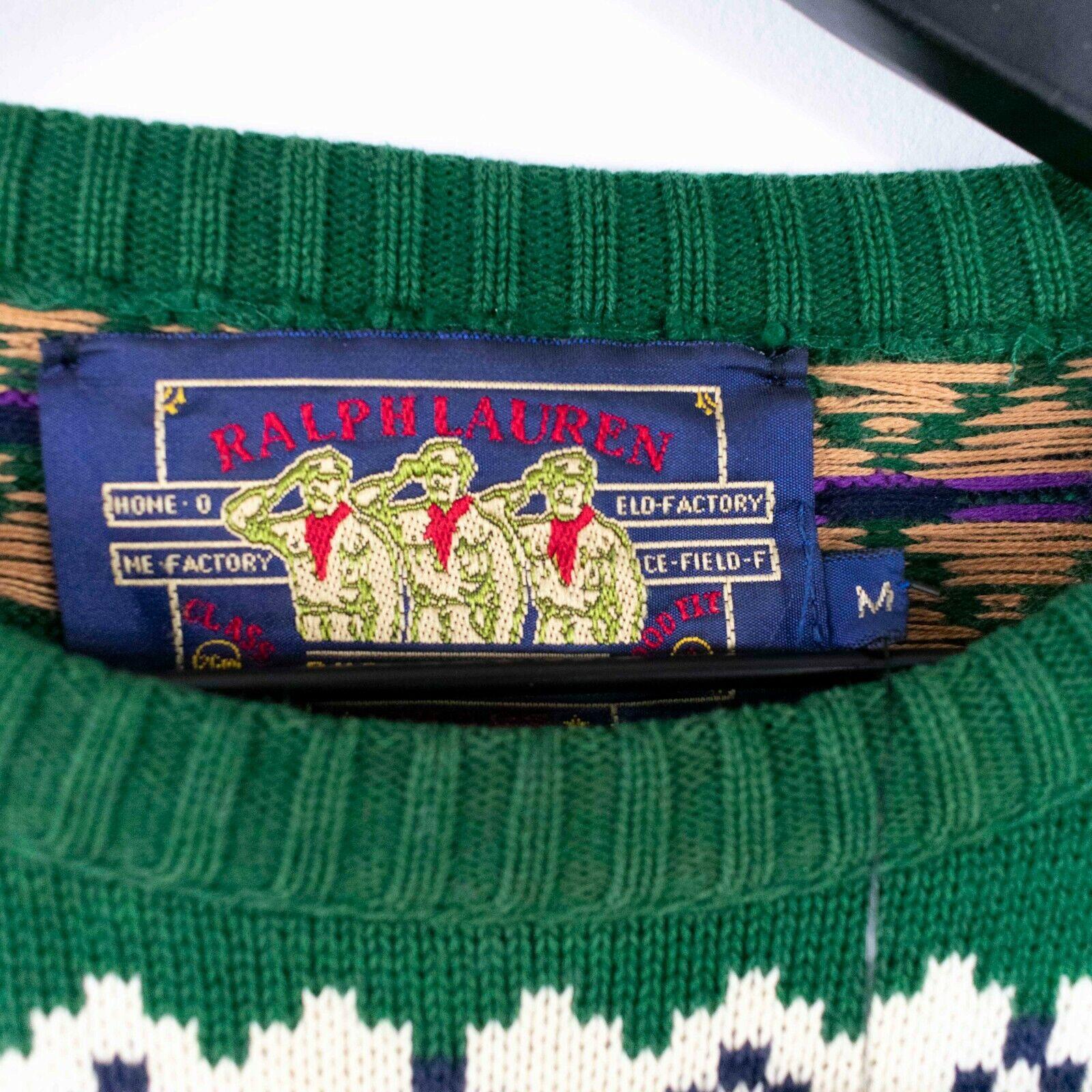 Vintage 80s/90s Chaps Ralph Lauren Knit Sweater S… - image 3