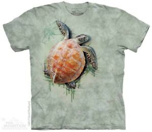 Sea-Turtle-Climb-T-Shirt-by-The-Mountain-Aquatic-Ocean-Tee-S-5XL-NEW