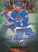 WILF PAIEMENT 2011-12 Parkhurst Champions Autograph Quebec Nordiques