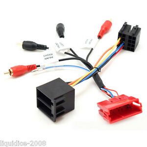 PORSCHE-911-1998-ONWARDS-CAR-VEHICLE-MINI-ISO-HARNESS-ADAPTER-LEAD-STEREO-RADIO