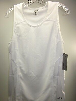 EASTBAY MEN/'S SOLID ATHLETIC SINGLET WHITE SIZE XL POLYESTER 8139202 IMPORTED