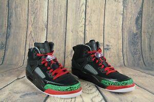the latest 61cf4 db09e Air Jordan Men s Spizike OG Black Green White Varsity Red 315371-026 Size  11 NEW