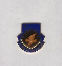 US Army 207th Aviation Battalion crest DUI c/b clutchback badge G-23