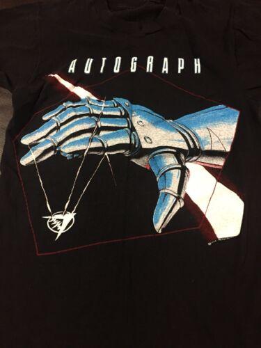Vintage Autograph 1985 Sign In Please Tour Shirt-S