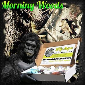 DAWN MORNING CAMO CAMOUFLAGE DIP HYDROGRAPHIC WATER TRANSFER HYDRO DIPPING KIT