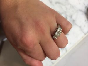diamond Jared engagement ring size 6 eBay