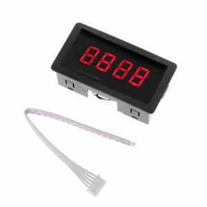 Digital-Counter-DC-LED-4-Digit-0-9999-Up-Down-Plus-Minus-Panel-Counter-Meter-wit