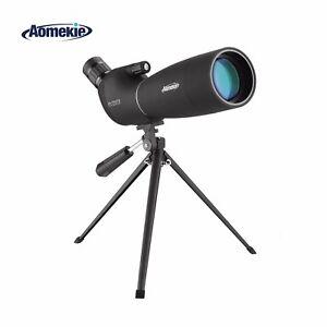 Zoom-25-75X70-Angled-Spotting-Scope-Astronomical-Telescope-Waterproof-W-Tripod