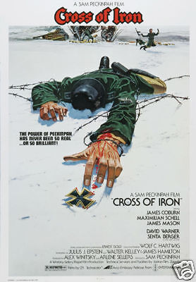 Cross of Iron James Coburn vintage movie poster