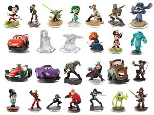 Marvel and Star Wars Classic Disney Infinity figures 1.0 2.0 and 3.0