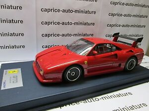 Ferrari 288 Gto Evoluzione Roues Flasque Noir 1984 Smart Look 1/18 Eme