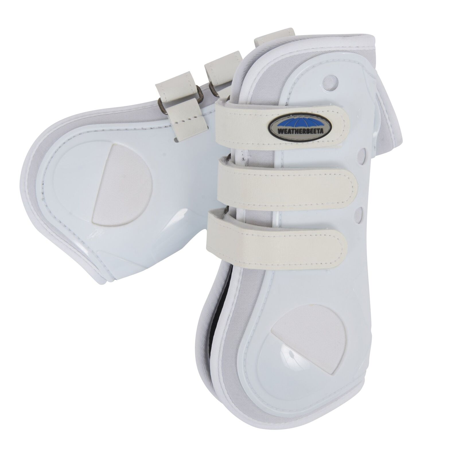 Weatherbeeta Dynamic Open Front Horse Boot Tendon - White All Sizes