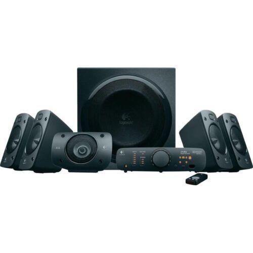 1 von 1 - Logitech Z906 3D-Stereo-Lautsprecher THX (Dolby 5.1-Surround-Sound) *NEU&OVP*