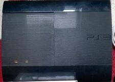 Sony PS3 SUPER SLIM 500GB in OVP Konsole Playstation 3 + 4 Spiele Ersatz schwarz