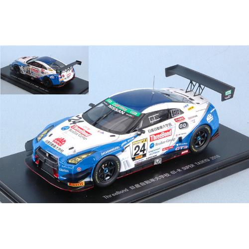NISSAN GT-3 N.24 2nd SUPER TAIKYU 2018 KONDO RACING 1:43 Ebbro Die Cast