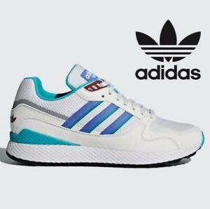 ADIDAS-ORIGINALS-ULTRA-TECH-Hommes-Tailles-UK-7-9-11-12-Blanc-Veritable-Lilas