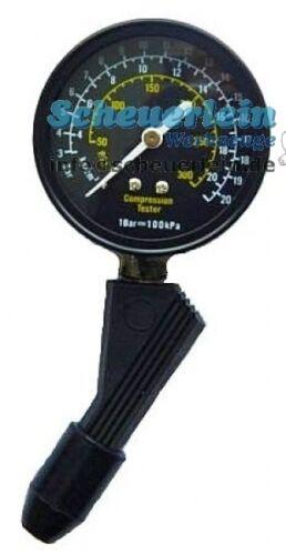 Kompressionstester M10 M18 Motor Kompressionsdruck testen prüfen messen