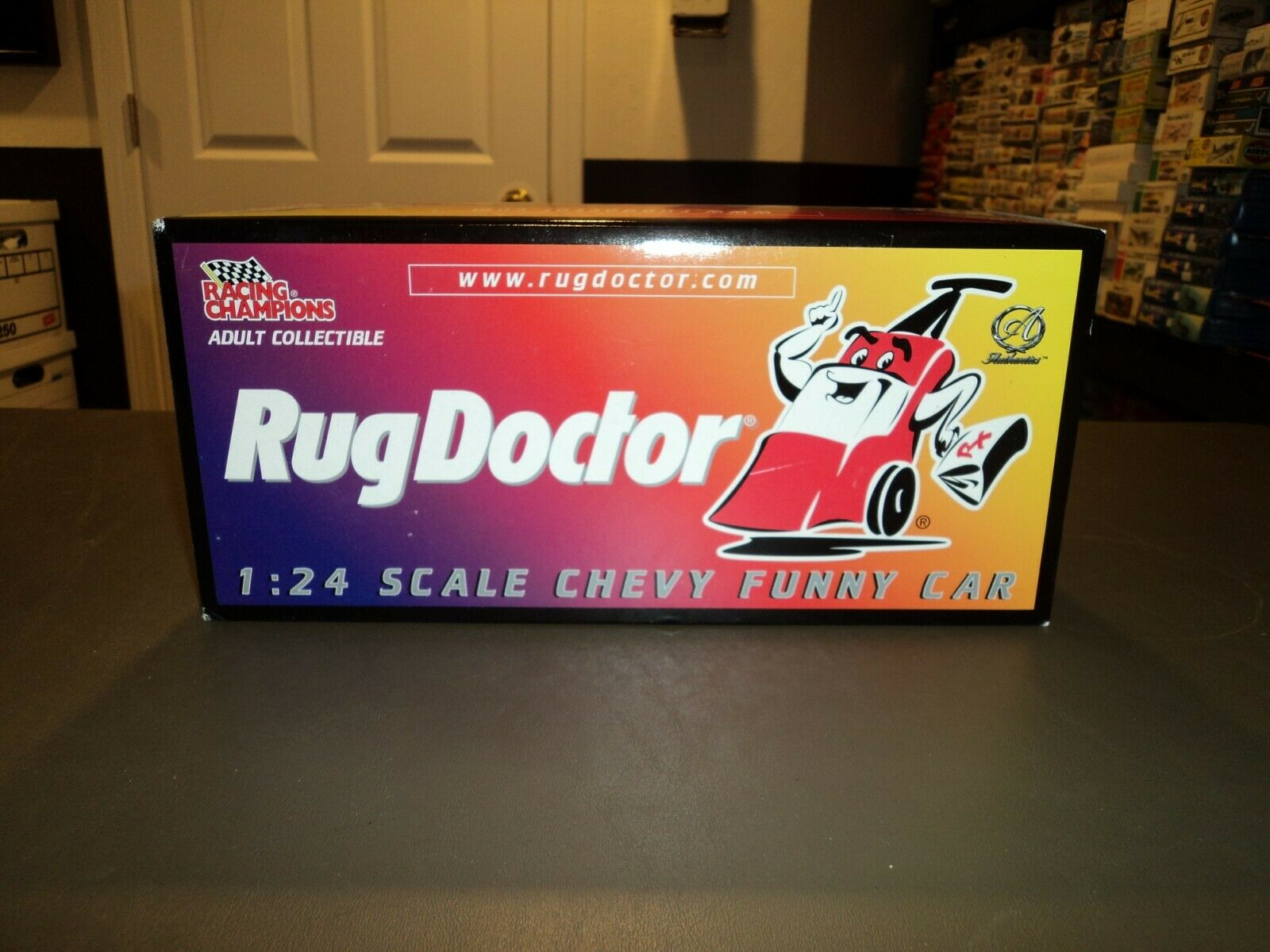 NEW Racing Champions 1 24 Rug Doctor Die Cast Car Chevy Funny Car