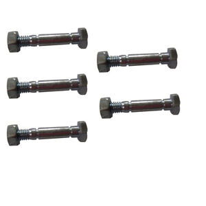 """8 Shear Pins w//Nuts for MTD Snowblower Auger Drive 710-0890 1-1//2/"""" x 5//16/"""""""