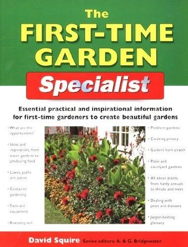 1 of 1 - New, The First-time Garden Specialist (Specialist Series), , Book
