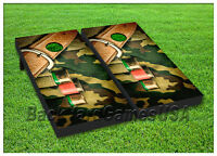 Vinyl Wraps Cornhole Boards Decals Army Clip Shells Bag Toss Game Stickers 100