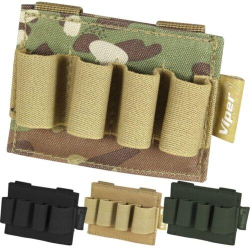 Viper Modular Schrotflinte Patrone Halter Molle Tasche Airsoft Jagd Armee Gewebe