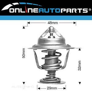 Dayco Thermostat suits Toyota Tercel AL25 4cyl 1.5L 3A-C 1984~1988