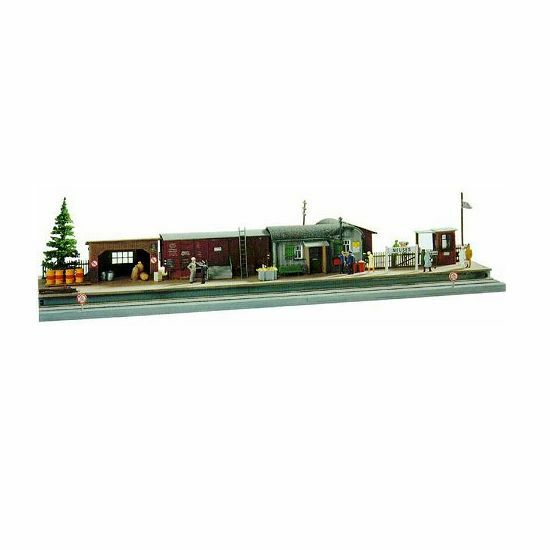 PIKO HO SCALE 1/87 SUBURBAN STATION BUILDING KIT | BN | 61112