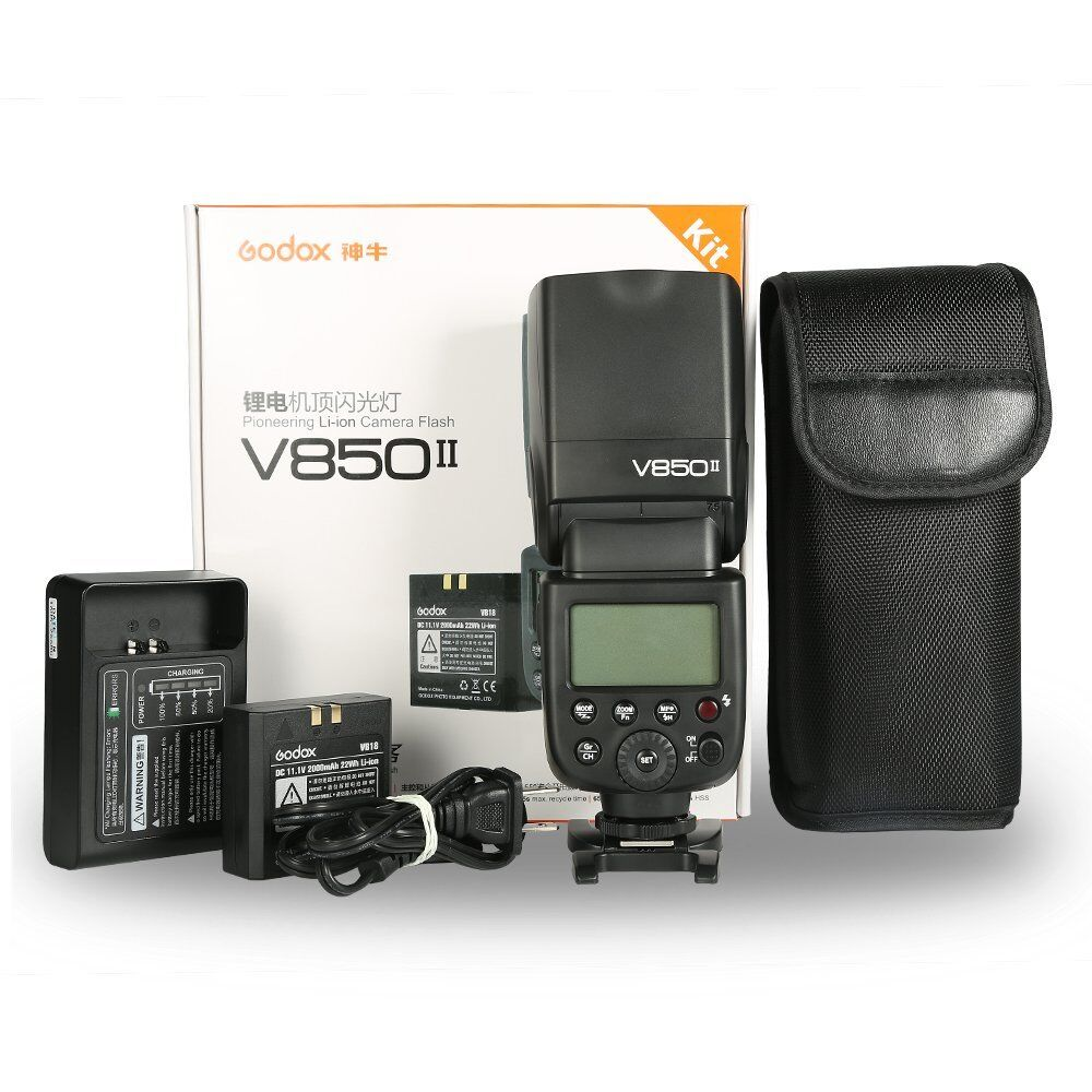 V860II-N GODOX V860II-N TTL Flash 1//8000s High-Speed Sync 2.4G GN60 Camera Flash Speedlight with Li-on Battery 1.5S Recycle Time 650 Full Power Flashes for Nikon D3400 D3200 D5300 D5600 D7500 D750