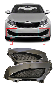 OEM Kia Fog Light Cover Fog Lamp Bezel Passenger Side Optima 2011-2012-2013