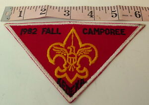 Camp-Kedeka-BSA-Fall-Camporee-Patch-1982-Sugar-Grove-Illinois-Boy-Scouts