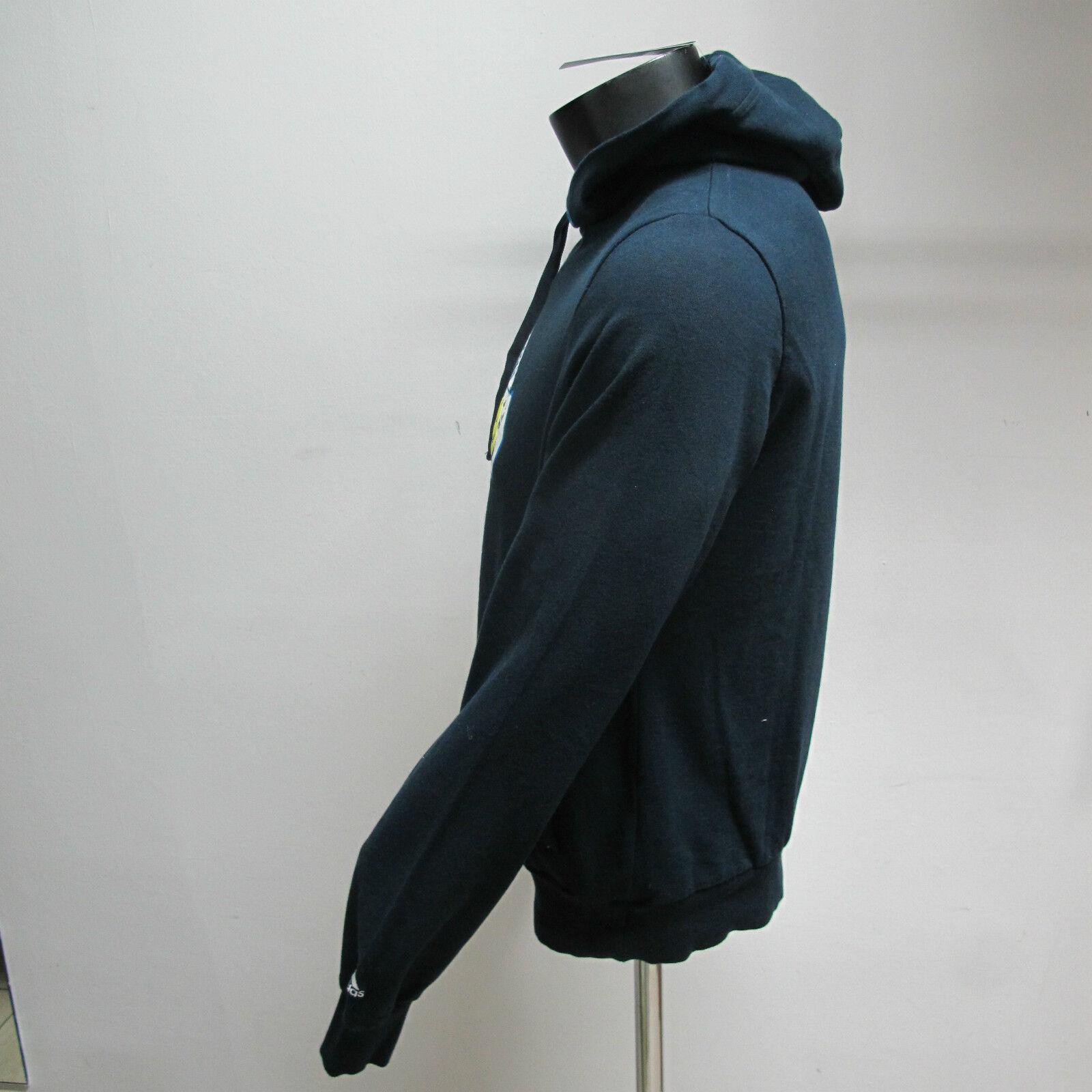 ADIDAS Herren-Sweatshirt mit Blau Kapuze mod.SUMMER FAV GR Farbe Blau mit tg.4 Sommer 9041b6