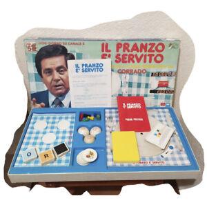 IL PRANZO E' SERVITO gioco EG Editrice giochi scatola ...