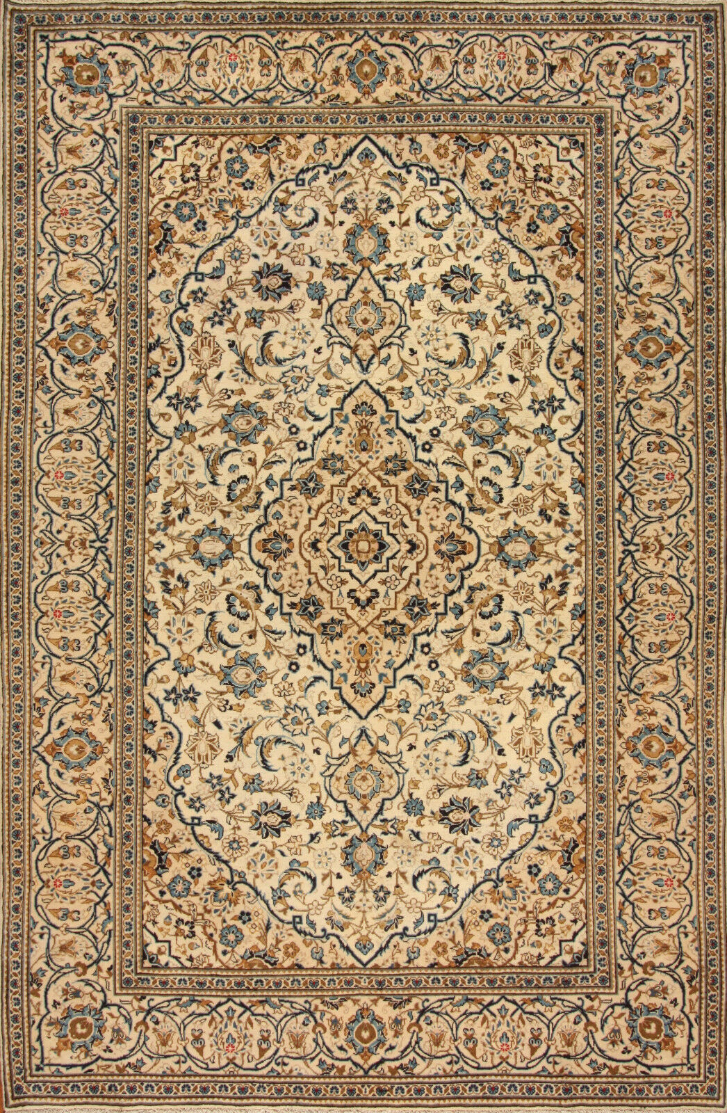 TAPPETO Orientale Vero Annodato Tapis persan n. 4457 (303 x 200) cm