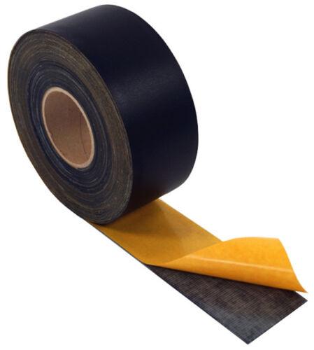 schwarz Dicke: 0,8 mm EPDM // selbstklebend Dichtungsband Self-Flex Fugenband