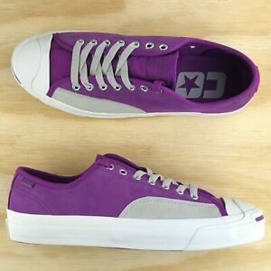 d0ea77b2a4fb Converse Jack Purcell Pro Ox Low Top Purple Gray Casual Skate Shoes ...