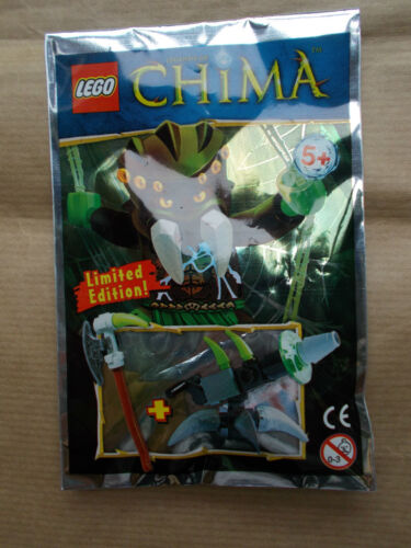 NEW LEGO LEGENDS OF CHIMA MINIFIGS /& WEAPONS SEALED PACKETS CHOOSE WHICH U WANT